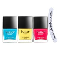 butter LONDON 'Pop Art' Nail Lacquer Trio (Limited Edition) ($53 Value) | Nordstrom