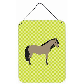 Welsh Pony Horse Green Wall or Door Hanging Prints BB7736DS1216