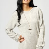 Annie Boucle Knit Sweater