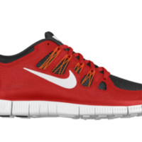 Nike Free 5.0 Shield iD Custom Men's Running Shoes - Red