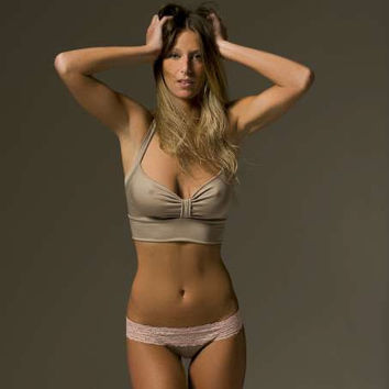 Pewter- Retro sleep Bra- Latte- Color and Size Options