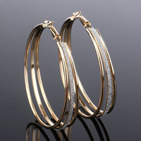 Hot Sale Matte Simple Design Strong Character Star Earrings [10232197767]