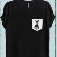 ZEBRA WOMEN POCKET T-SHIRT code50585