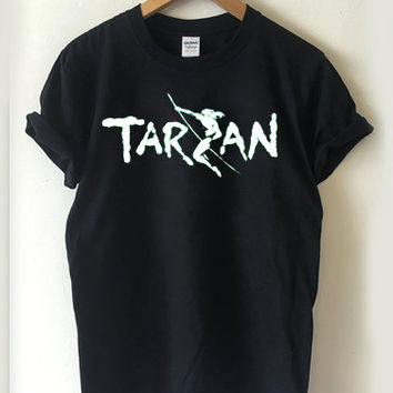 Tarzan logo disney T-shirt Men, Women, Youth and Toddler
