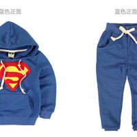 brand new baby autumn new fashion boys clothing chiristmas childrens suit 3colors korean style kids drop shipping