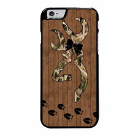browning deer camo wood iphone 6 plus 6s plus 4 4s 5 5s 5c cases