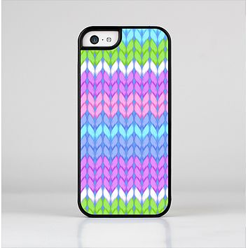 The Bright-Colored Knit Pattern Skin-Sert for the Apple iPhone 5c Skin-Sert Case