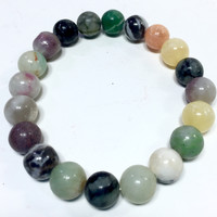 "8"" Multi Gemstone Bracelet, health, balance"