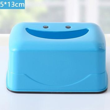 Household articles plastic paper towel  Car Home Rectangle Shaped Tissue Box Container Towel Napkin Tissue Holder