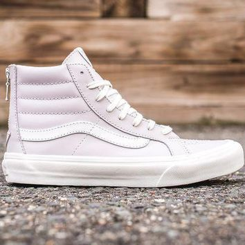 Vans Womens Sk8 Hi Slim Zip   Wind Chime