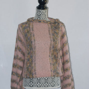Vintage Mohair and Pam Sweater Made in Italy