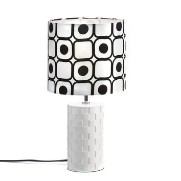 Table Lamps For Living Room,ceramic Modern Small White Bedside Lamp For Bedrooms