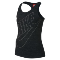 Nike Gym Vintage Girls' Tank Top Size XS (Black)