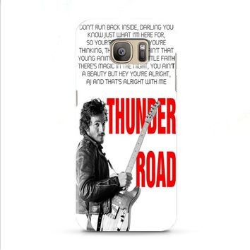 Bruce Springsteen Born To Run Quote Samsung Galaxy J7 2015 | J7 2016 | J7 2017 case