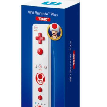 Wii Remote Plus (Toad)
