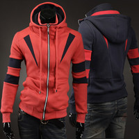 Winter Korean Men Hats Hoodies Slim Jacket [6528748867]