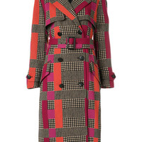 Paul Smith Double Breasted Check Coat - Farfetch