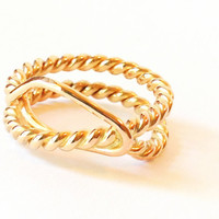 Infinite Ring- Rope Ring- Spring Fashion