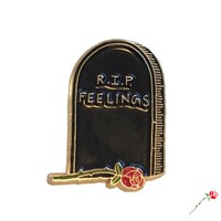 Inner Decay — RIP Feelings Pin