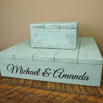 Personalized Cake Stand - Shabby-Chic in Various Sizes