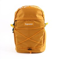 """Supreme"" Stylish Back To School Casual On Sale Comfort College Hot Deal Alphabet Backpack"