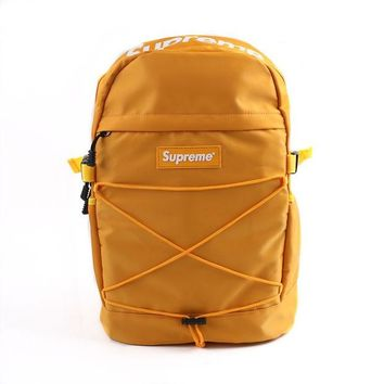 """""""Supreme"""" Stylish Back To School Casual On Sale Comfort College Hot Deal Alphabet Backpack"""