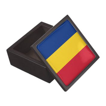 Romanian Flag Premium Gift Box
