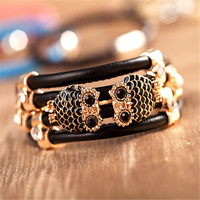 Stylish Gift Shiny New Arrival Hot Sale Great Deal Awesome High Quality Leather Bangle Bracelet [6586248519]