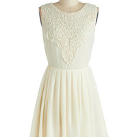 ModCloth Mid-length A-line Candle Lighting Dress