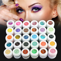 12/24/48/60 Color Mineral Glitter Matte Eyeshadow Palette Set