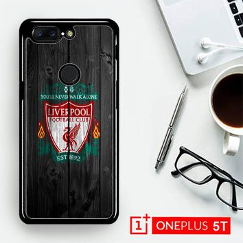 Liverpool Fc Wood X4394  OnePLus 5T / One Plus 5T Case