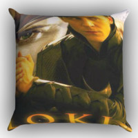 Loki Thor Zippered Pillows  Covers 16x16, 18x18, 20x20 Inches