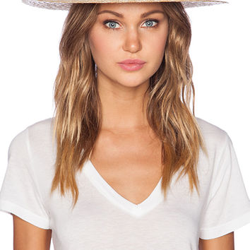 Lack of Color The Spencer Boater Hat in Black