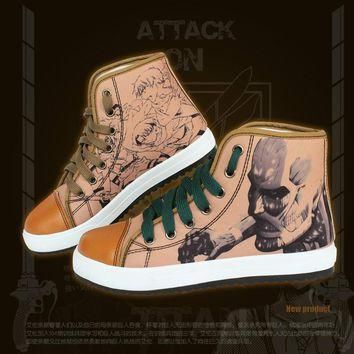 New arrival Anime Attack on Titans cosplay accessories Attack on Titans cosplay shoes