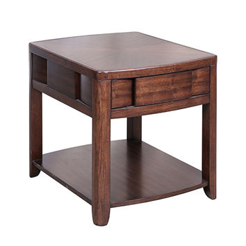 Magnussen Home T1428-03 Nova Chestnut End Table