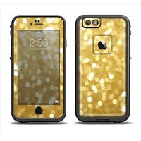 The Bright Golden Unfocused Droplets Apple iPhone 6/6s LifeProof Fre Case Skin Set
