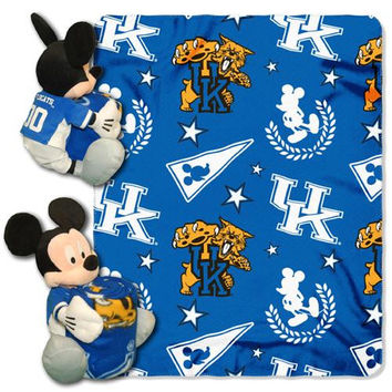 Kentucky Wildcats NCAA Mickey Mouse with Throw Combo