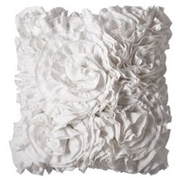 Xhilaration® Jersey Ruffle Decorative Pillow