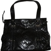 Jessica Simpson Purse Handbag Icon Tote Black