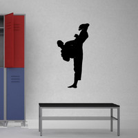 Martial Arts Wall Decal Sticker 43