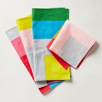 Colorblock Cocktail Napkin