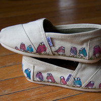Marching Owls Custom TOMS Shoes