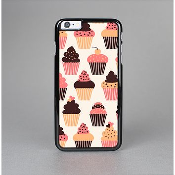 The Yummy Subtle Cupcake Pattern Skin-Sert for the Apple iPhone 6 Skin-Sert Case