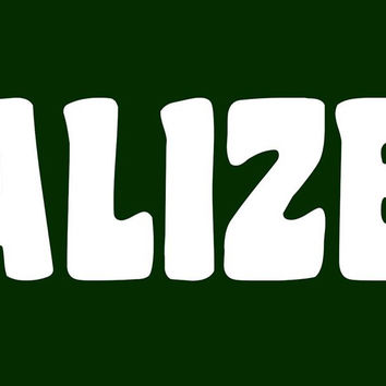 Legalize Weed Bumper Sticker
