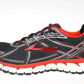 Brooks Men's Adrenaline GTS 15 Black/Red/Anthracite Running Shoes