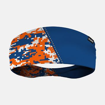 Arsenal Digi Camo Blue Orange White Headband
