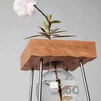 Table for a flower - short vase
