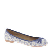 New Look Josey Floral Flat Shoes