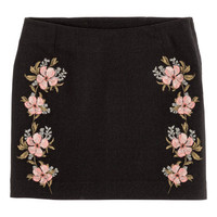 H&M Embroidered Skirt $24.99