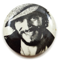 Vintage 70s Bruce Springsteen The Boss Pinback Button Pin Badge
